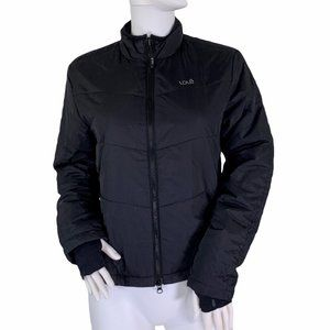 Lole Black Polyester Filled Insulated Zip Coat S